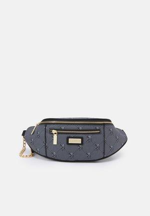 HAMPTON SOFT WAIST BAG PRINTED - Heuptas - black