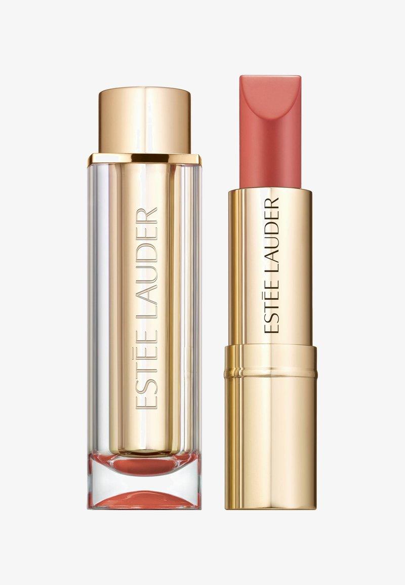 Estée Lauder - PURE COLOR LOVE LIPSTICK MATTE - Lippenstift - 110 raw sugar