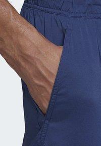 adidas Performance - SOLID TECH SWIM SHORTS - Shorts - blue - 4