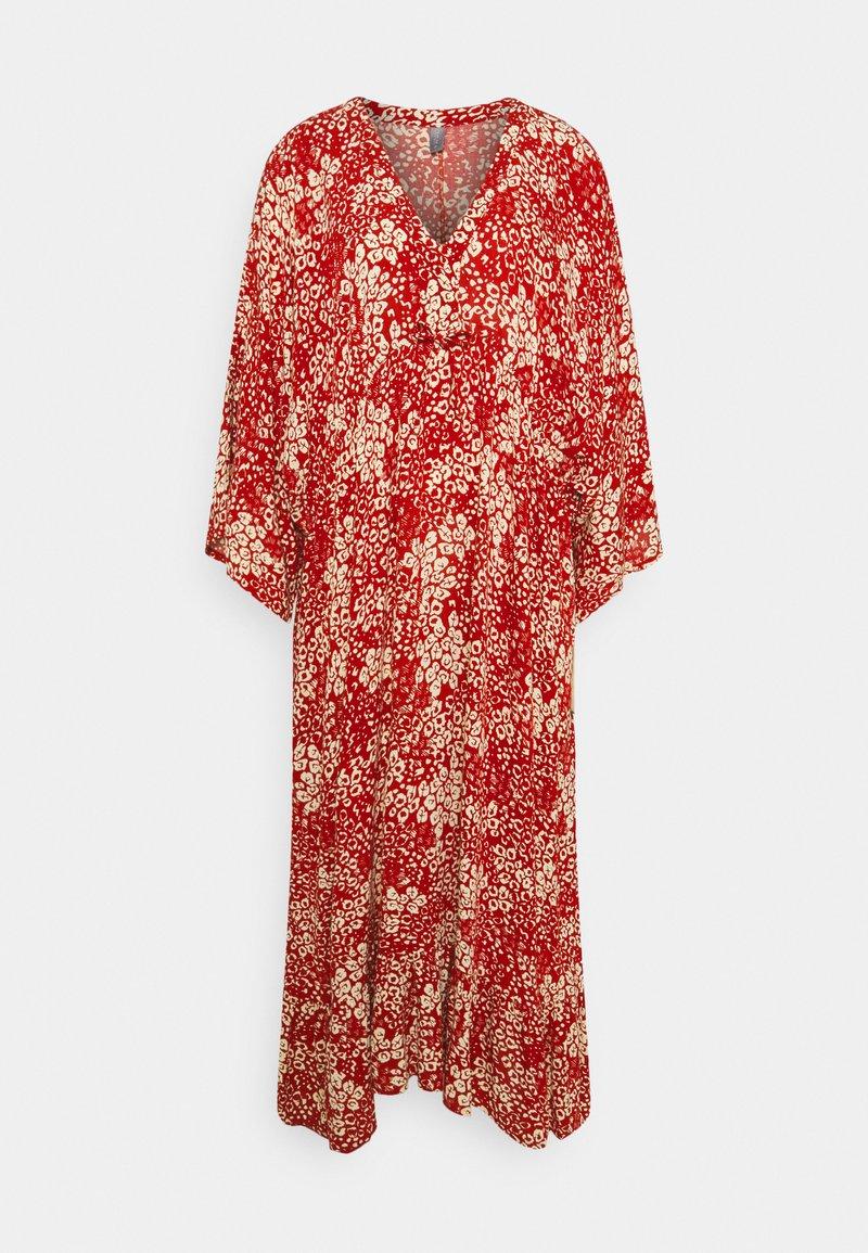 Culture - CUELAINA DRESS - Maxi dress - ketchup