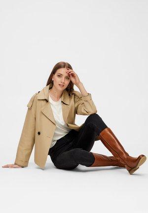 BIAATALIA WINTER - Winter boots - cognac