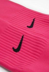 Nike Performance - ACADAMY UNISEX - Knee high socks - vivid pink/black - 1