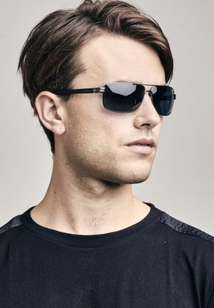 Sunglasses - black metal