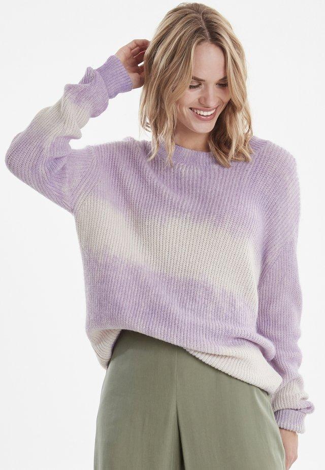 BYNIXI - Neule - pastel lilac