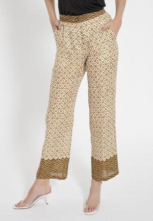 CAPOA - Pantalon classique - ocker