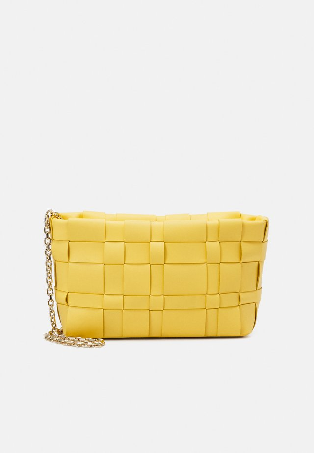 ODITA LATTICE POUCH - Borsa a tracolla - sunshine