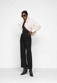 ICHI PETITE - IHCARISSA - Button-down blouse - black - 1