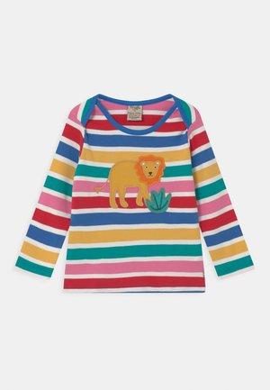 BOBBY APPLIQUE LION UNISEX - Top sdlouhým rukávem - multi-coloured