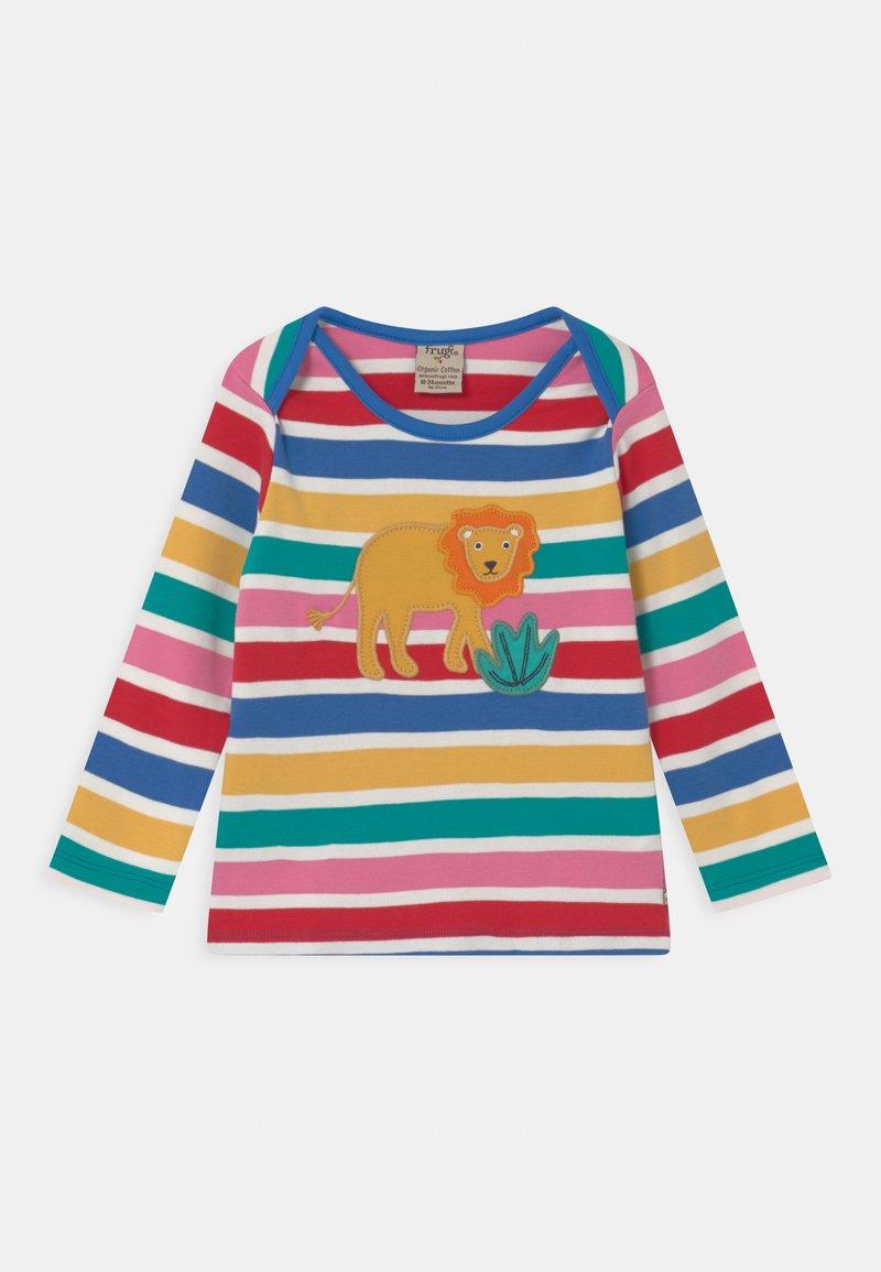 Frugi - BOBBY APPLIQUE LION UNISEX - Long sleeved top - multi-coloured