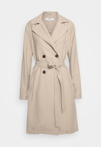 Classic coat - stone