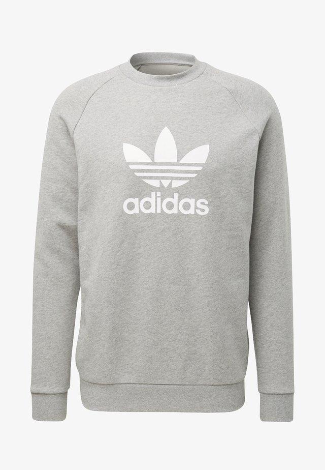 TREFOIL CREW UNISEX - Sweatshirt - medium grey heather