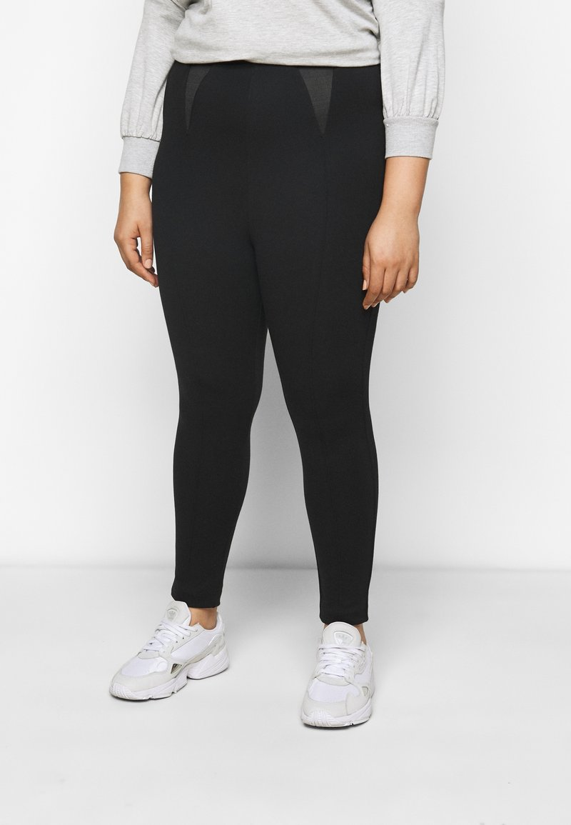 CAPSULE by Simply Be - SHAPER - Leggings - Trousers - black