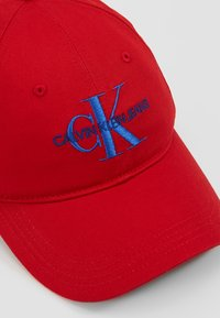 Calvin Klein Jeans - MONOGRAM WITH EMBROIDERY - Cap - red - 6