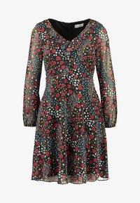 Wallis Petite - PATCHWORK DITZY DRESS - Sukienka letnia - black - 5