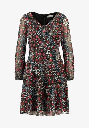 PATCHWORK DITZY DRESS - Hverdagskjoler - black