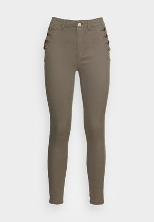BUTTONS - Jeans Skinny Fit - khaki