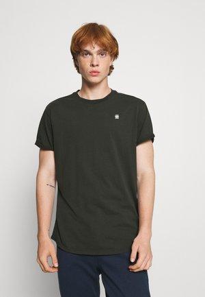 LASH - Basic T-shirt - raven