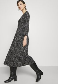 ONLY - ONLPELLA WRAP DRESS - Day dress - black - 3