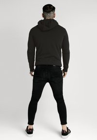 SIKSILK - CREEP OVERHEAD HOODIE - Sweatshirt - black - 2