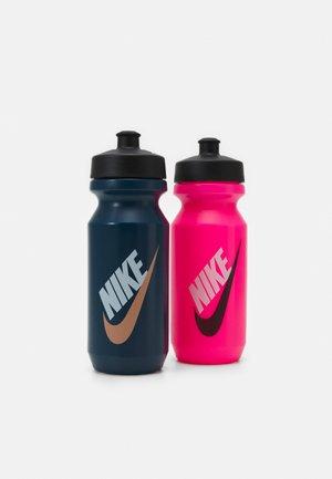 BIG MOUTH BOTTLE 22 OZ 2 PACK - Drink bottle - valerian blue/black/white/atomic pink