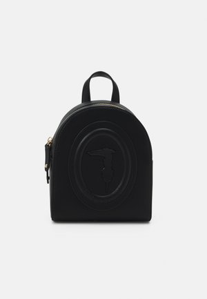 LISBONA BACKPACK SMOOTH - Batoh - black