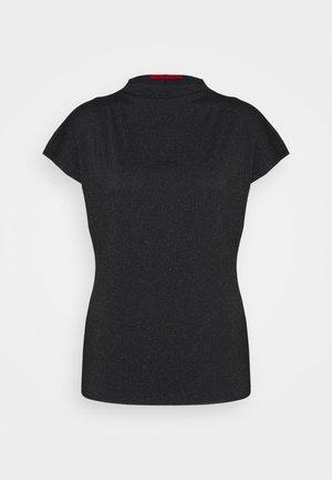 PROMESSA - Print T-shirt - navy blue