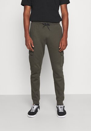 DUSHANE - Pantalon cargo - army