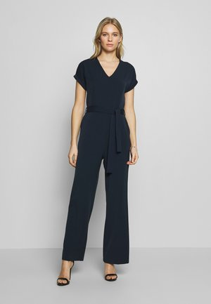 FESTIVE WITH BELT - Jumpsuit - sky captain blue