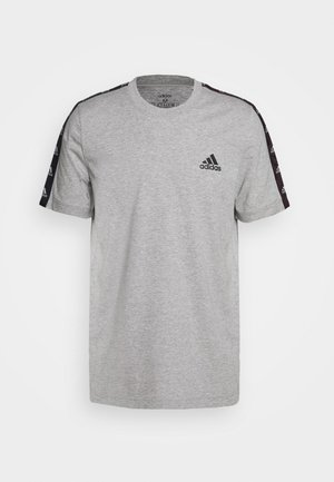 ESSENTIALS TRAINING SPORTS SHORT SLEEVE TEE - T-shirts med print - grey/black