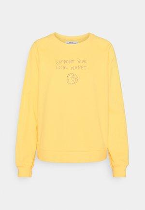 RAGLAN LOCAL PLANET - Sweatshirt - yellow