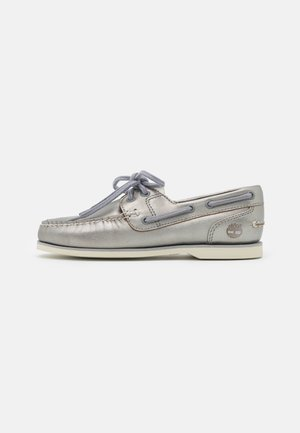 BOAT SHOE CLASSIC - Lace-ups - grey