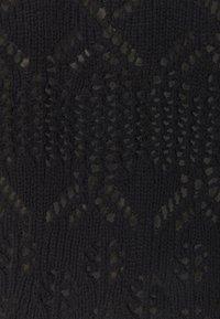 Monki - PEARL CARDIGAN - Cardigan - black - 5