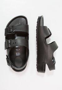 Birkenstock - MILANO KIDS - Pool slides - black - 0