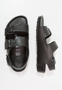 Birkenstock - MILANO KIDS - Sandały kąpielowe - black - 0