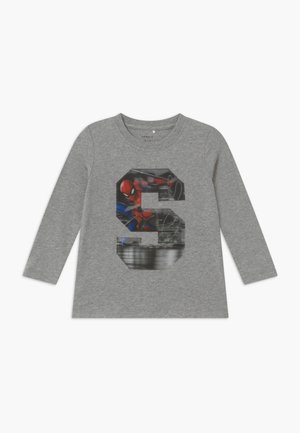NMMSPIDERMAN - Camiseta de manga larga - grey melange