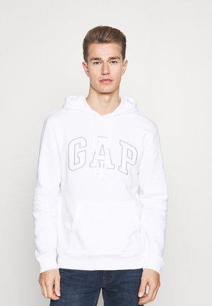 Bluza z kapturem - white global