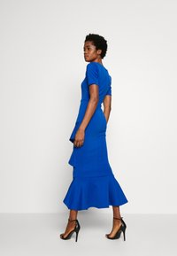True Violet - FRILL LAYER DRESS WITH SQUARE NECK - Occasion wear - blue - 2