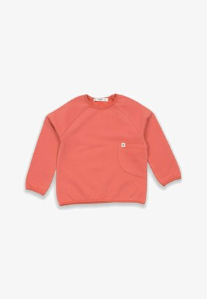 POCKET - Sweatshirt - brick