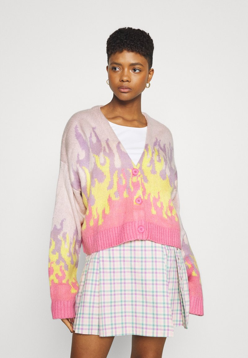 The Ragged Priest - OUTLAW - Cardigan - pink