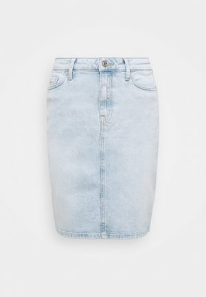 ROME STRAIGHT SKIRT LOTA - Spódnica ołówkowa  - light-blue denim