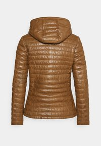 Oakwood - Leather jacket - cognac - 1