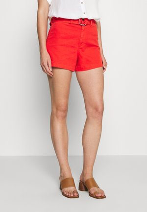 HIGH RISE SEAFARER - Shorts - coral
