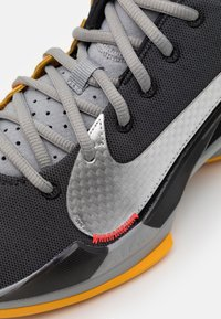 Nike Performance - ZOOM FREAK 2 - Basketball shoes - black/metallic silver/particle grey - 5