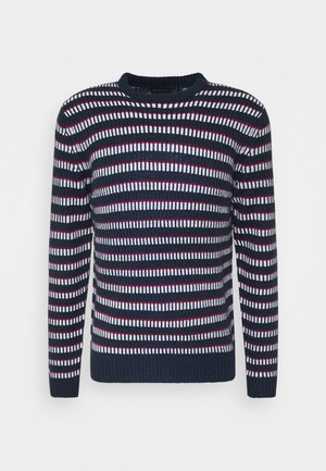 ONSLASCO STRIPE - Jumper - dress blues