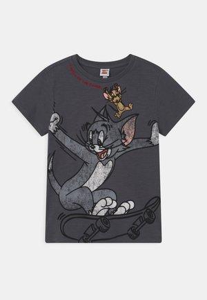 T-shirt con stampa - ebony