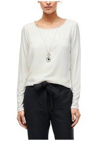 s.Oliver BLACK LABEL - Long sleeved top - soft white - 0