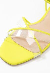 ALDO - CANDID - Sandály - bright yellow - 2