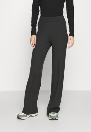 VMNICHOLA TROUSERS - Bukse - dark grey melange