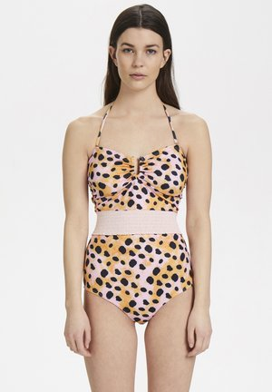 KELLYGZ - Swimsuit - orange leo