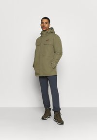 Columbia - RUGGED PATH - Parka - stone green - 1